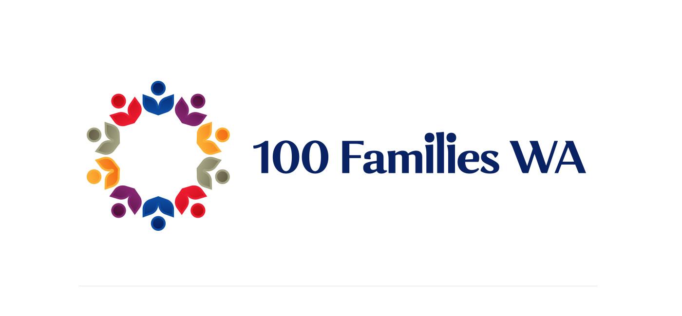 100 FAMILIES WA LOGO